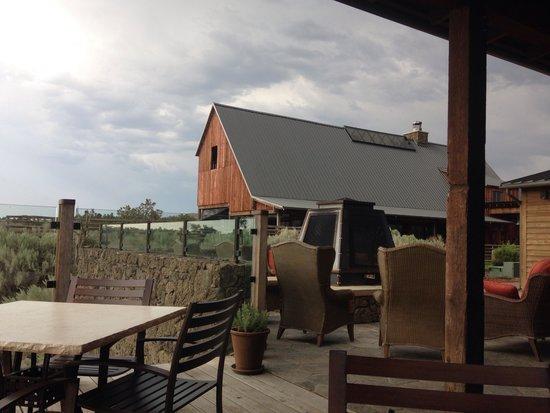 Brasada Ranch: Ranch house outdoor seating