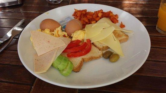 Hotel La Rosa : Breakfast