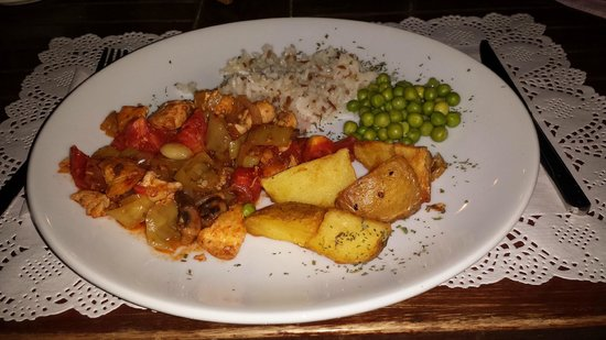 Hotel La Rosa : Chicken casserole meal, this was lovely