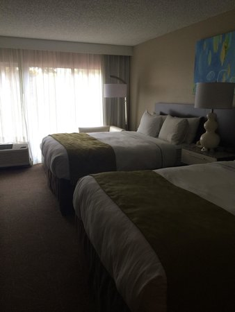 Radisson Resort Orlando-Celebration: First floor room