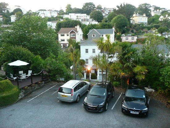 The Meadfoot Bay: View from our standard room