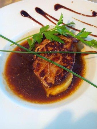 L'Adresse : Foie gras poelé