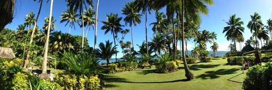 Qamea Resort And Spa Fiji: View from our Bure