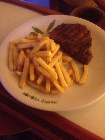 Konoba Zakan: Filetto con patatine