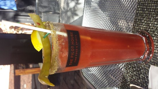The Pilot House: Bloody Caesar is a thing of beauty and very tasty.