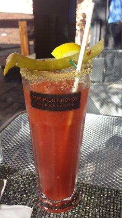 The Pilot House : Bloody Caesar is a thing of beauty and very tasty.