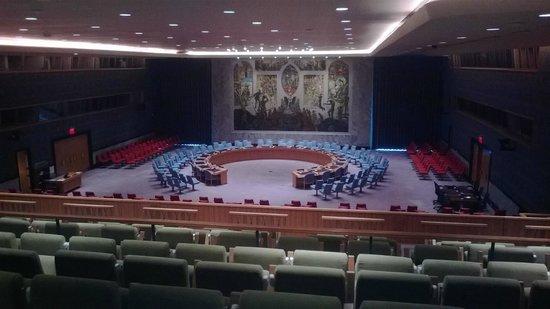 United Nations Headquarters: salle du conseil de securité