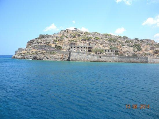 Spinalonga (Kalidon): Вид на остров