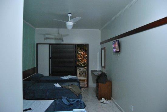 Pousada Cavalo Marinho : vista interna da suite