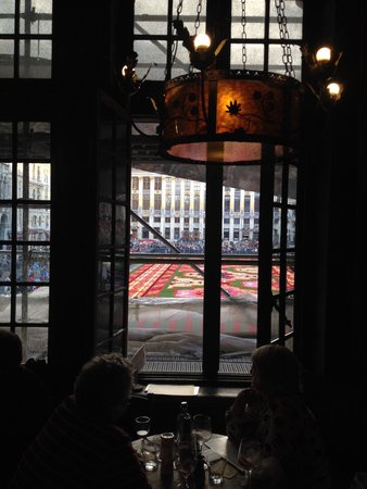 La Brouette : The view from upstairs!