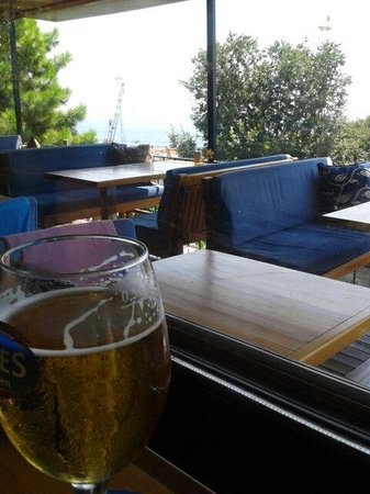 Cheers Soul Kitchen: Outside sitting area.