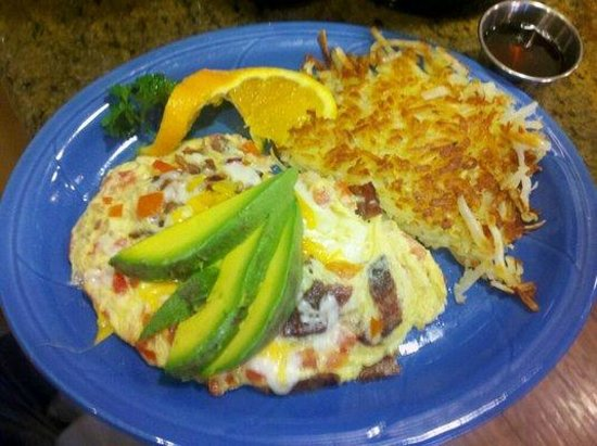 Chulo's Cafe & Cantina: Excellent Omelet