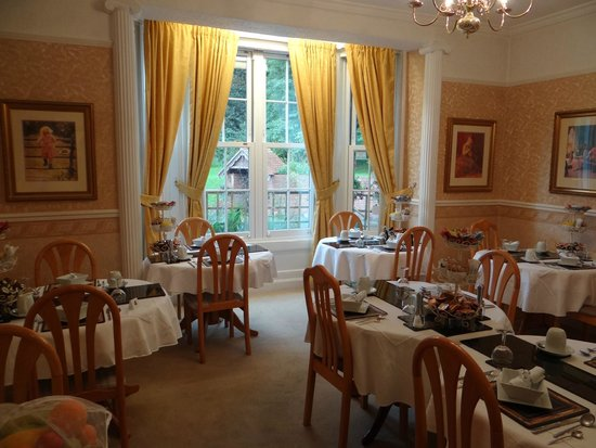 The Old Rectory at Broseley: Breakfast Room