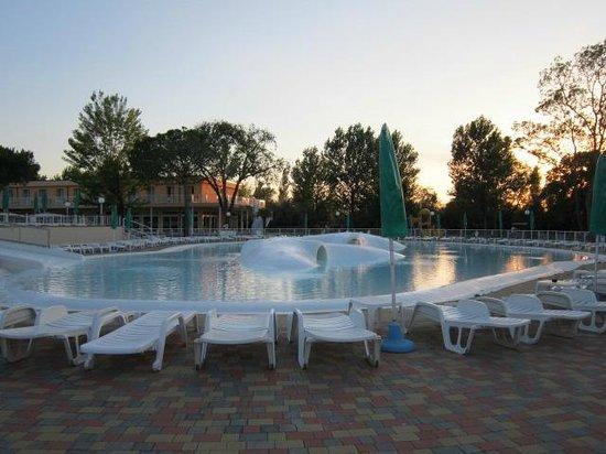 Hotel Club Spiaggia Romea : piscina l'oasi