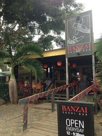 Banzai Sushi Bar: Look for us in the NORTH SHORE MARKETPLAC
