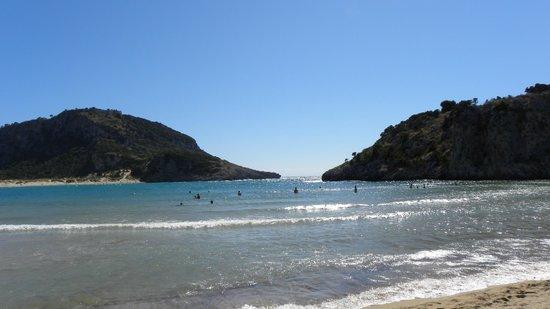 Voidokilia Beach: βοιδοκοιλια