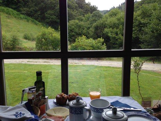 Hotel Casona Cantiga del Agüeira: Para empezar el día