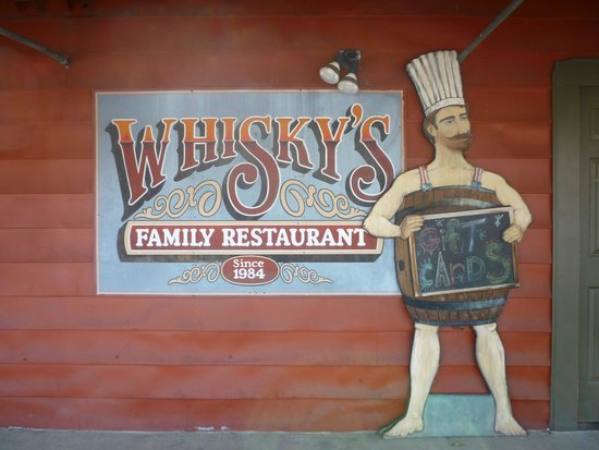Whisky's Family Restaurant : Front entrance