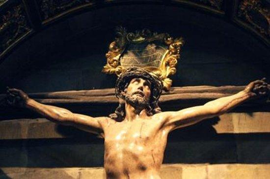 Iglesia de San Juan de Rabanera: Crucificado barroco