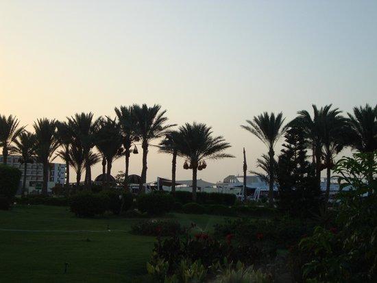 Hilton Hurghada Plaza: panorama