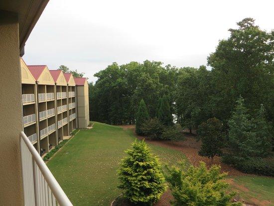 Legacy Lodge: Balcony room view