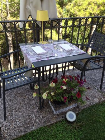 Ristorante La Cantina: veranda