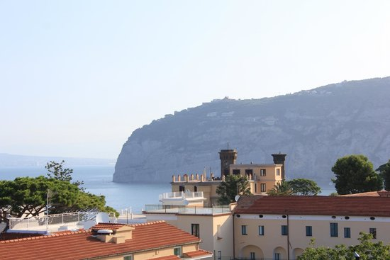 Hotel Mediterraneo Sorrento: View from our Room