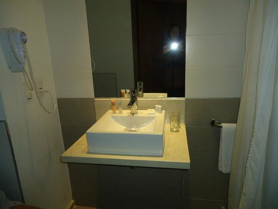 Real Colonia Hotel & Suites: baño