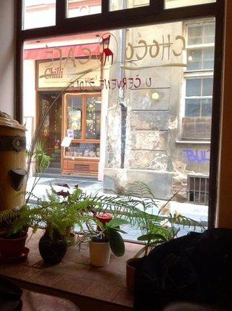 Choco Cafe U Cervene Zidle : Ambiance cosy.