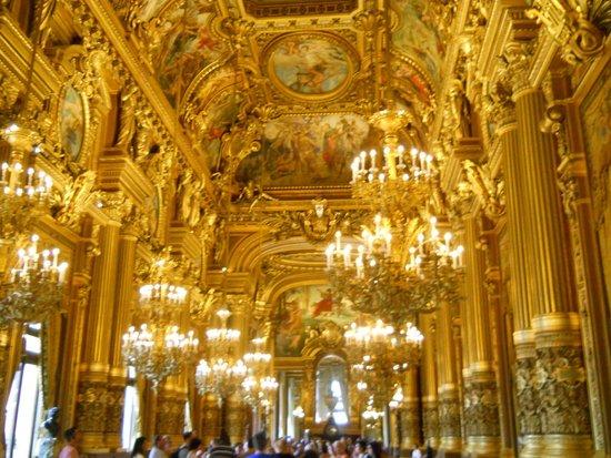 Opéra Garnier : Foyer
