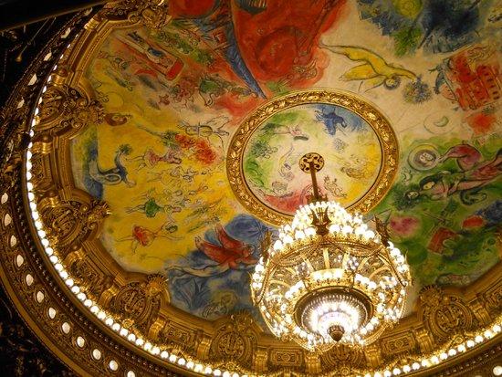Opéra Garnier : Sala