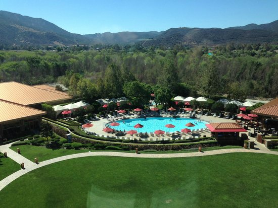 Pala Casino Resort and Spa: View from our room