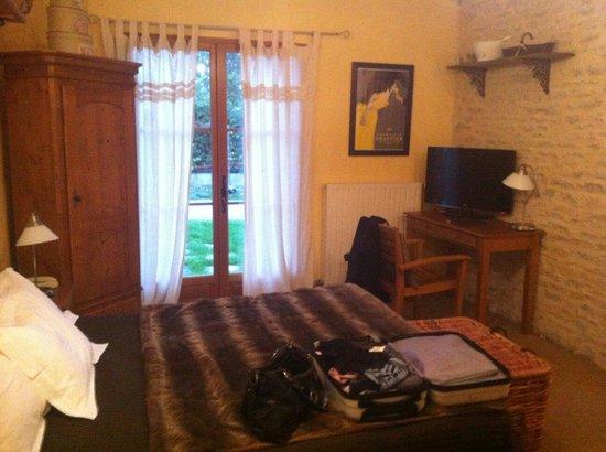 La Grange du Relais Hotel-Restaurant : Chambre