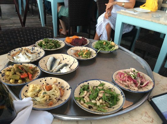 Manta Ray: Meze to choose from