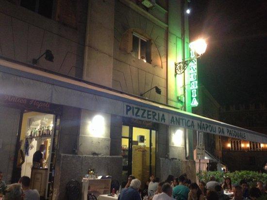Pizzeria Antica Napoli da Pasquale : Terazza pizzeria
