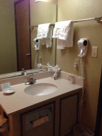 MCM Elegante Suites: Bathroom vanity