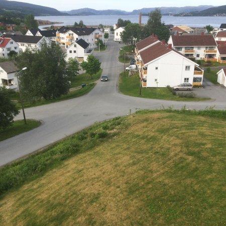 Hemne Hotell: Utsikt fra Restaurant