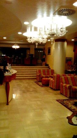 Hotel Metropolitan: Reception