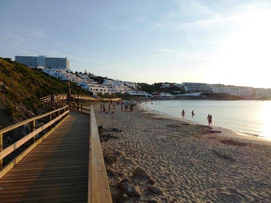 Fiesta Hotel Castell Playa: beach