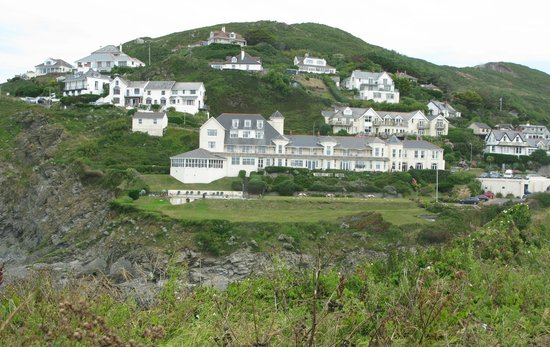 Watersmeet Hotel: Hotel view