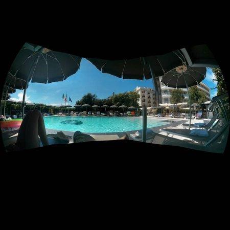Hotel Mariver: Von der Liege