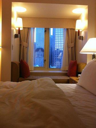 Taj Campton Place: view from the window