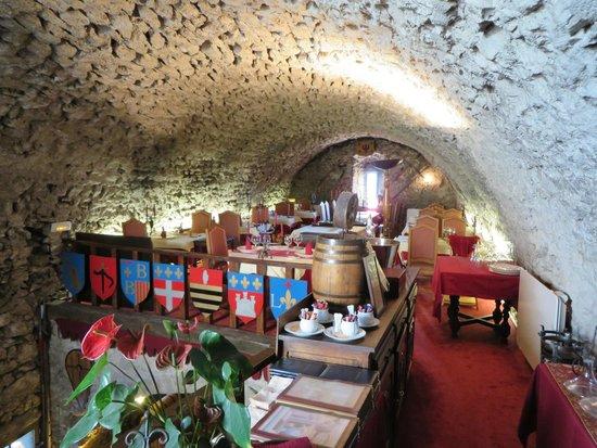 Chateau de Trigance : Restaurant