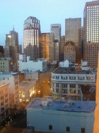 Taj Campton Place: view from room