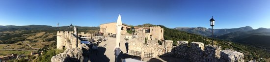 Chateau de Trigance : Terrasse