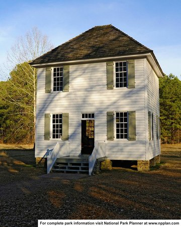 New Echota: Reconstructed Supreme Courthouse building