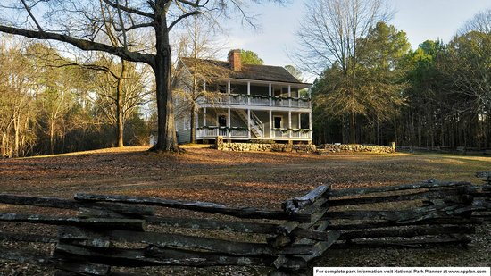 Samuel Worcester home, the only original structure at New Echota