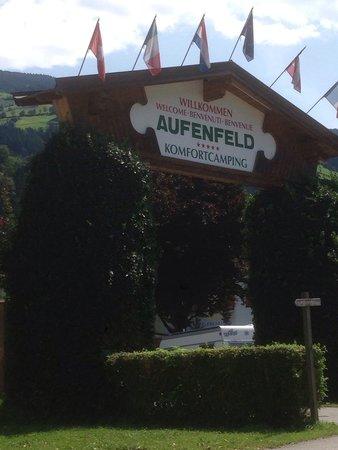 Erlebnis Comfort Camping Aufenfeld: L'ingresso del campeggio