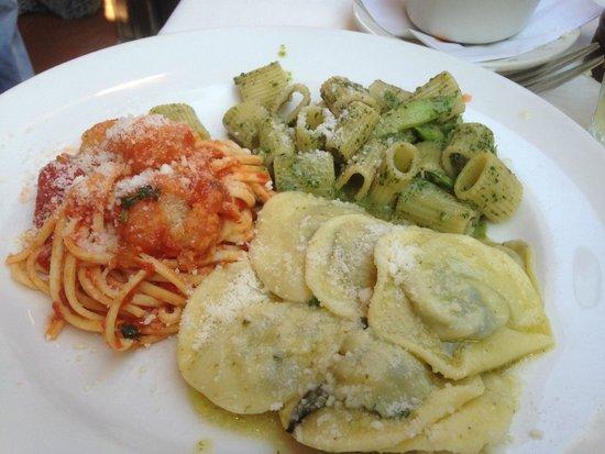 Becco : Three Pasta Special