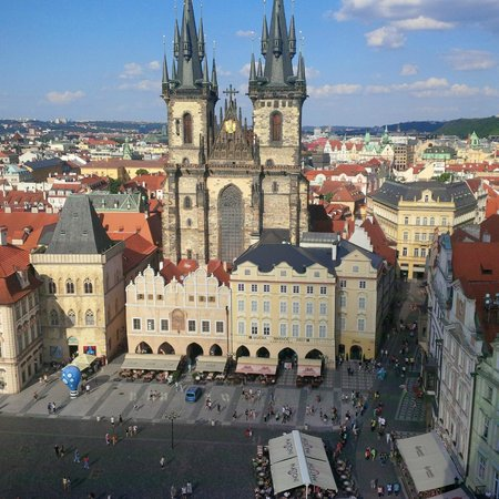 Prague Marriott Hotel: plaza central
